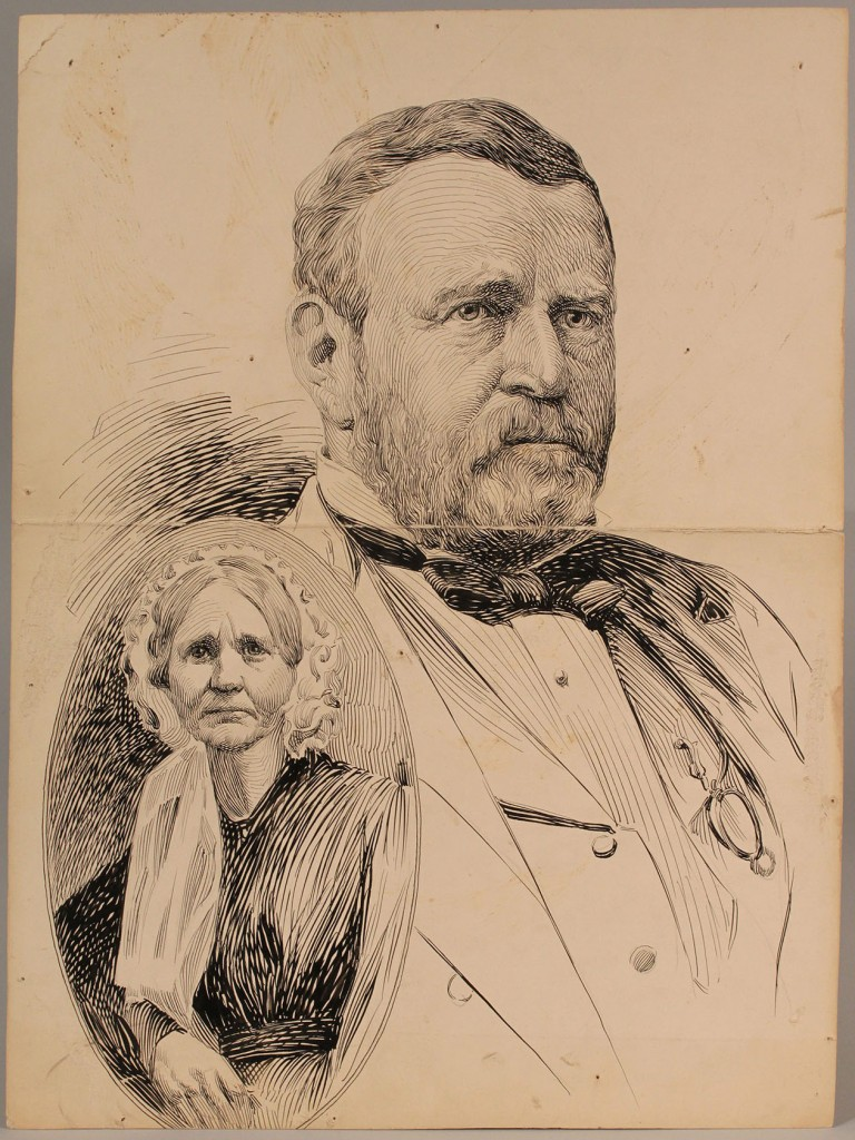Lot 267A: Lot of 3 Presidential Drawings, Albert Campbell