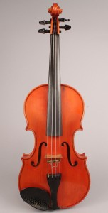 Lot 194A: Robert Benedetto labeled violin