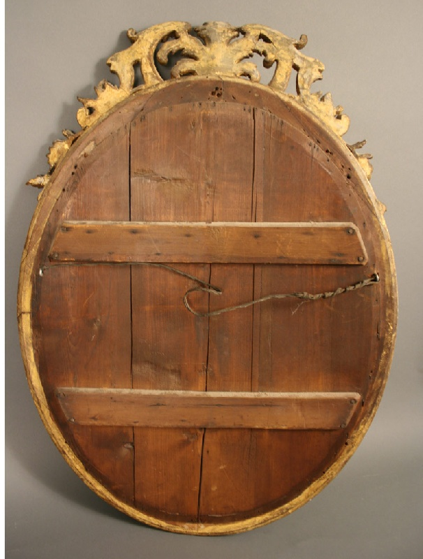 Carved Giltwood wall mirror, TN history