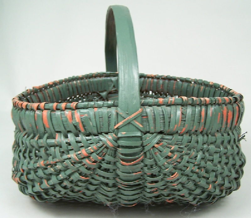 East Tennessee painted basket