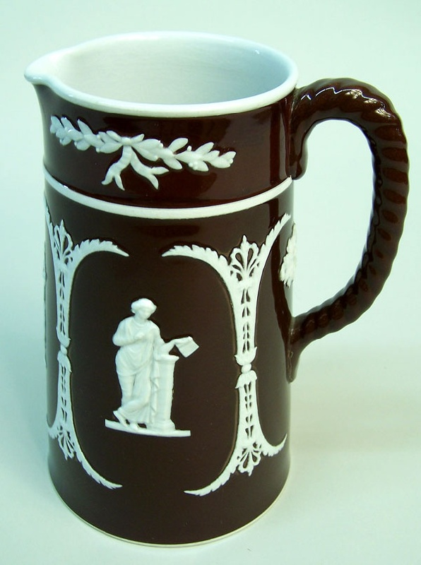 Wedgewood pitcher, marked