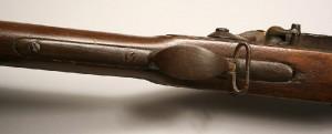 A Harpers Ferry flintlock rifle, U.S. Model 1816 musket, type II, lockplate marked Harpers Ferry 1825 - Lot#229 - Image 2