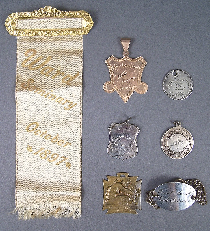Various medals relating to Glen Leven and Nashville