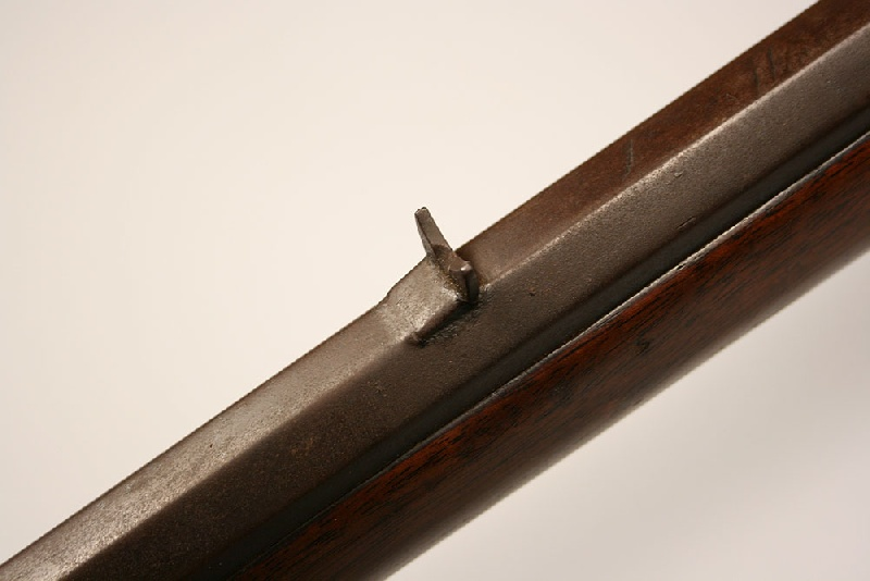 A percussion Tennessee long rifle, iron mounts – Lot #232
