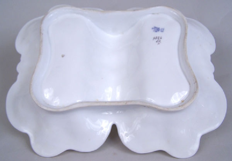 German porcelain trays, Altwasser factory