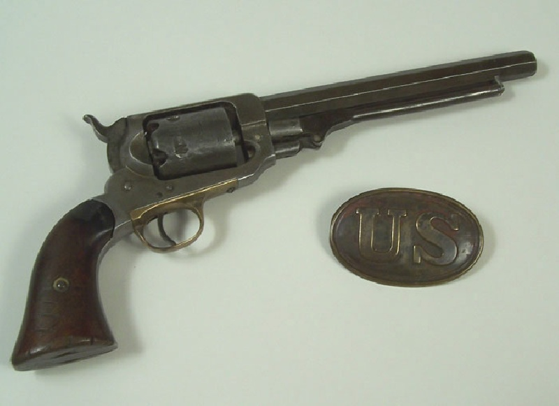 A. Lot 4 – Cartridge plate and Whitney pistol, Civil War