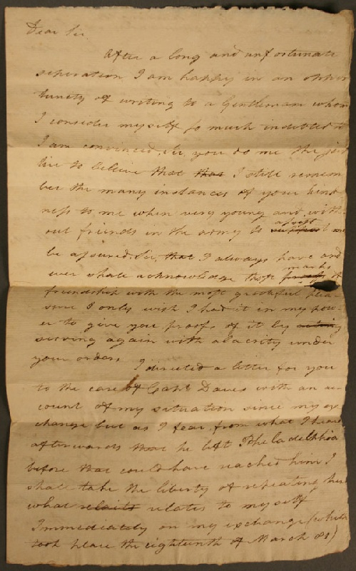 Revolutionary War & Military documents Nathaniel Lawrence