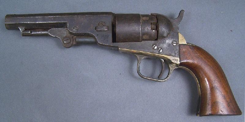 A. Lot  5 – Colt Model 1862 Pocket Navy revolver