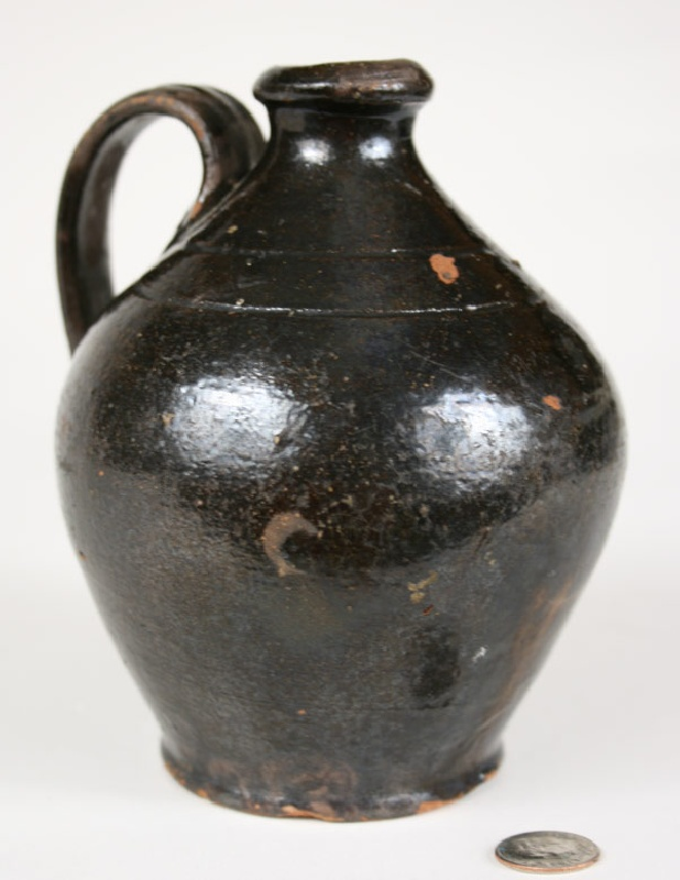 East Tennessee redware jug