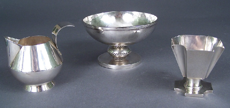 Tennessee handcrafted silver hollowware by Nashville artist, Conn West