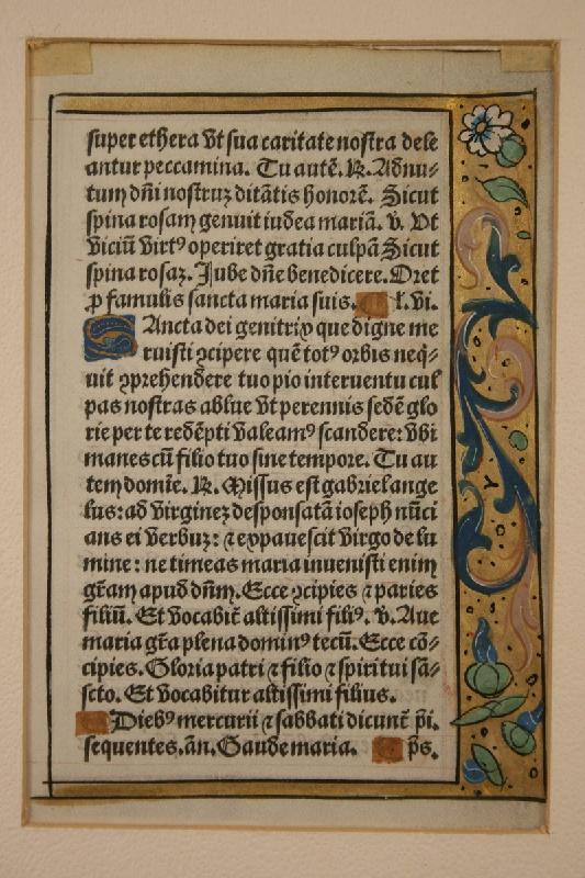 Paris 16th century illuminated manuscript, G. Hardouin, 1527