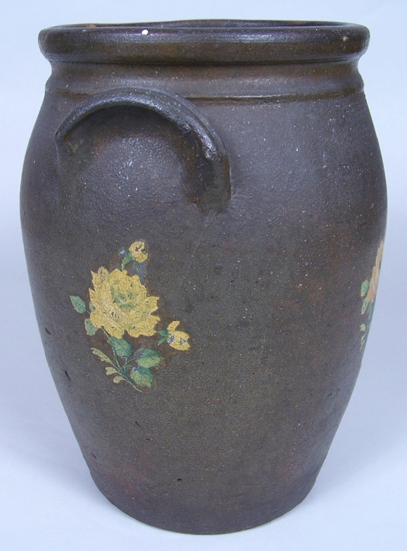 Washington County, Tennessee jar, attributed to Charles Decker pottery (lot#137)