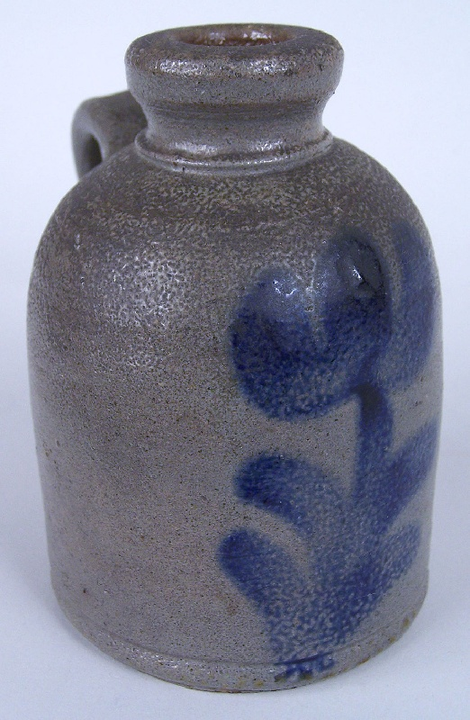 East Tennessee decorated miniature jug, attributed to Charles Decker (lot#30)
