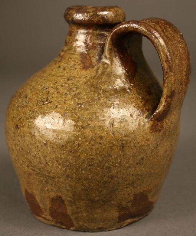 Edgefield South Carolina small jug, circa 1850