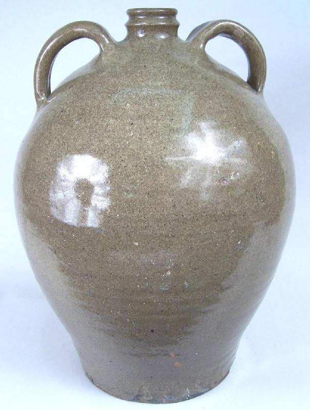 Edgefield South Carolina double handled jug (lot#81)