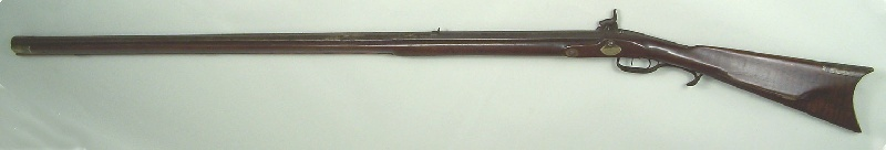 "Tennessee long rifle, stamped ""E Bull"" for Elisha Bull (lot#4)"