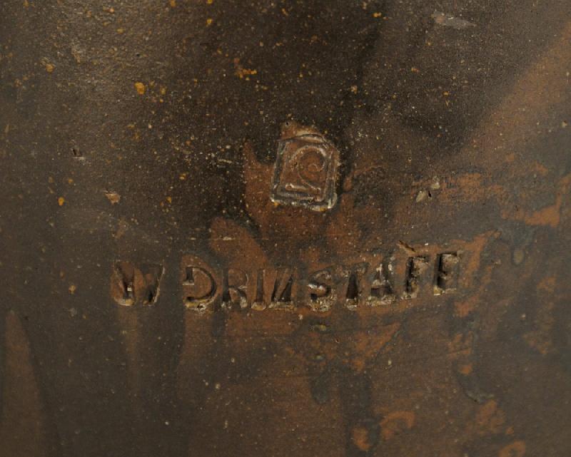 Tennessee stoneware jar by William Grindstaff, marked