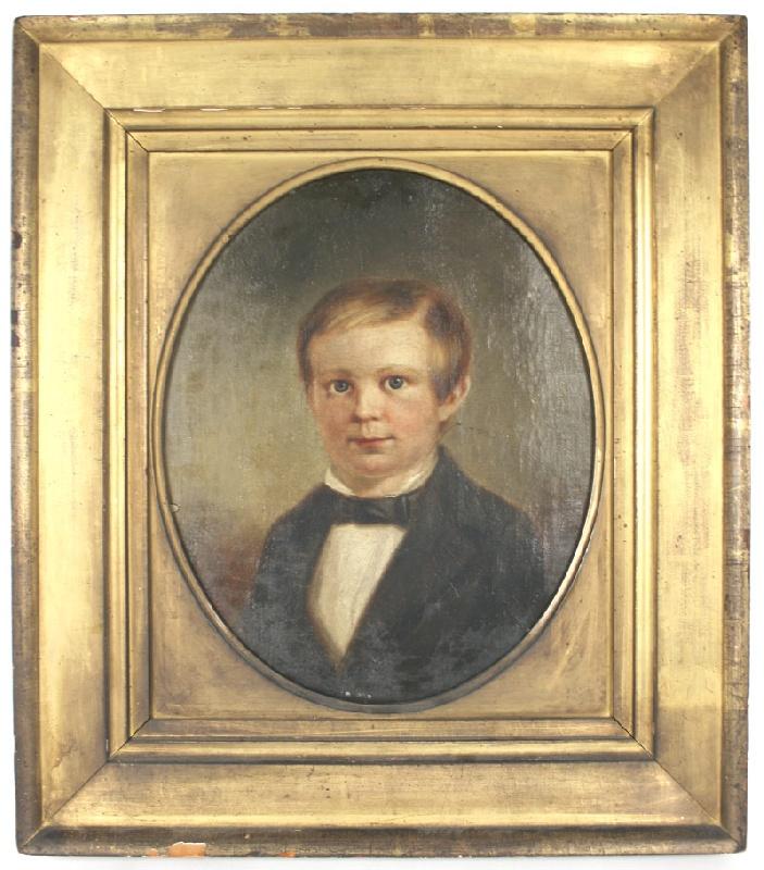 An important child portrait of Hugh McGavock, Nashville