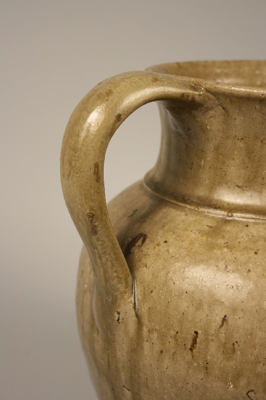 South Carolina alkaline glazed pitcher, Edgefield district