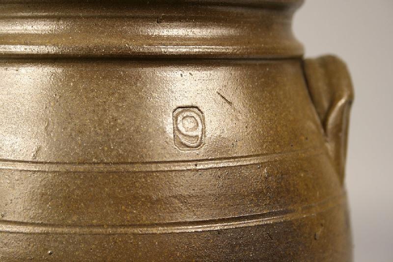 William Grindstaff one gallon stoneware jar, Knoxville