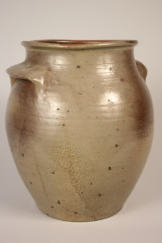 Tennessee stoneware jar, attributed to West TN.