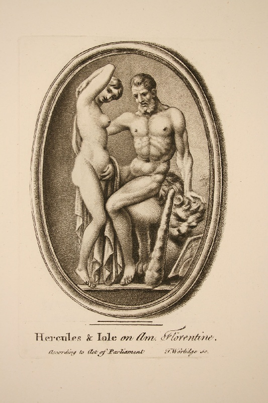 Thomas Worlidge: A Select Collection of Drawings from Curious Antique Gems, 1768