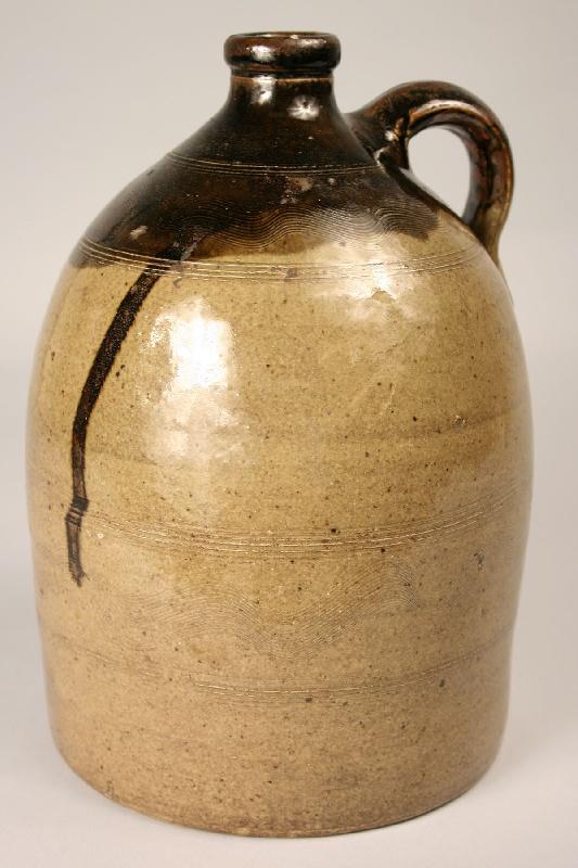Sand Mountain Alabama jug, double dip, sine wave decoration