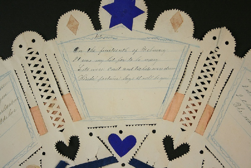 Southern cut valentine, East Tennessee history
