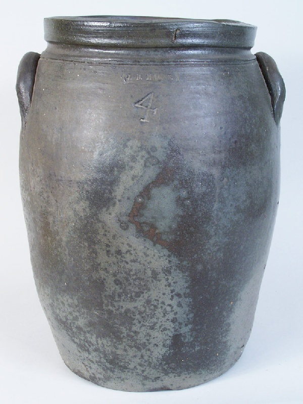 Virginia large 4 gallon J. B. Magee jar, Washington Co., VA (lot#76)