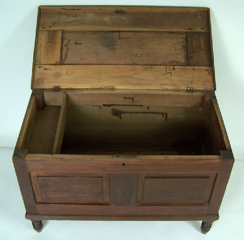 Tennessee small paneled chest, Knox. Co. (lot#9)