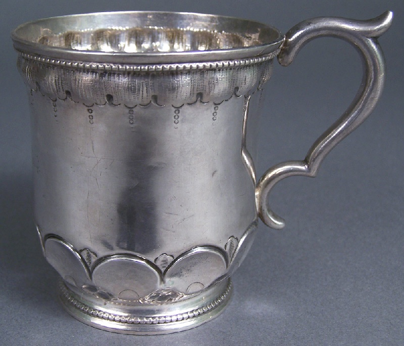 Rare and Important Mississippi Coin Silver Mug, Klein and Lampkin