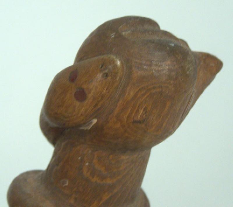 Folk art carving by Miles Beam, North Carolina (lot#104)