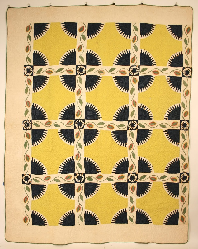 North Carolina quilt, circa 1850 with provenance.