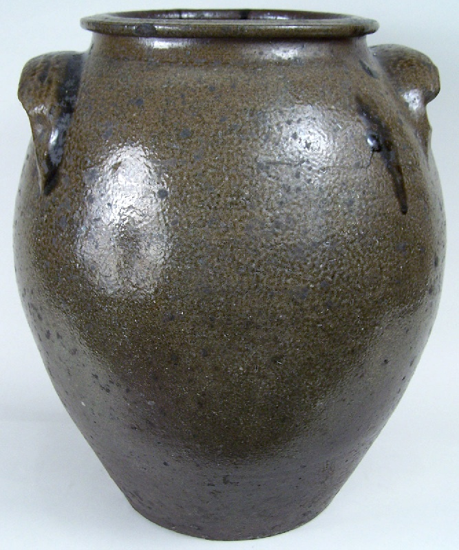 Lot 44: Large North Carolina jar, stamped N.H. Dixon