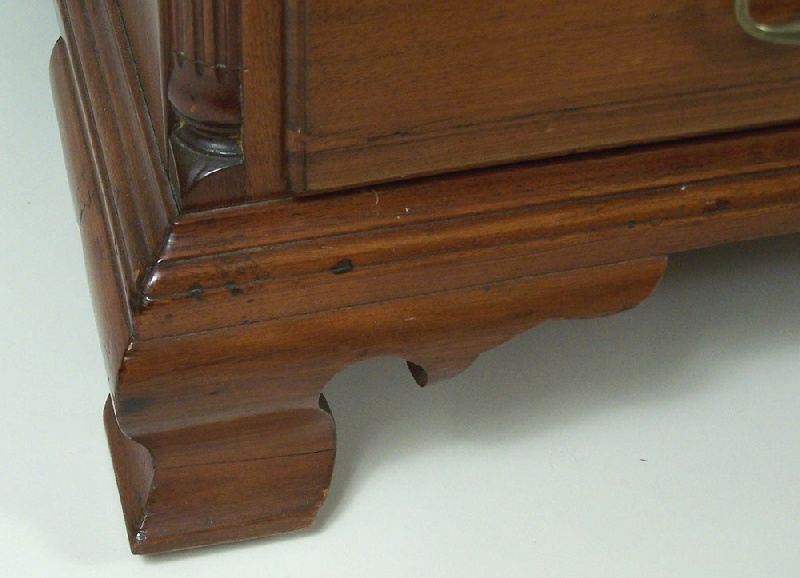 An exceptional North Carolina desk and bookcase, attributed to Jesse Needham, Randolph County, NC (lot#40)