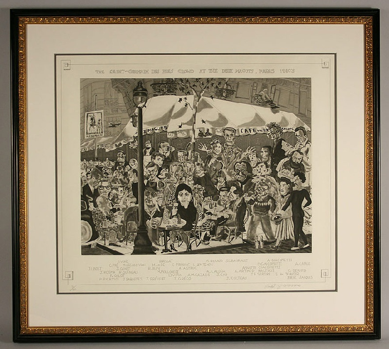 Red Grooms (Nashville, born 1937) signed lithograph