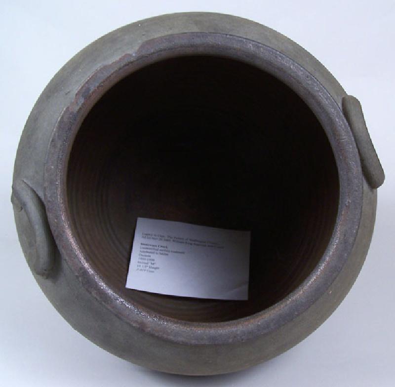 Virginia stoneware jar, Miller pottery of Washington County, VA (lot#77)