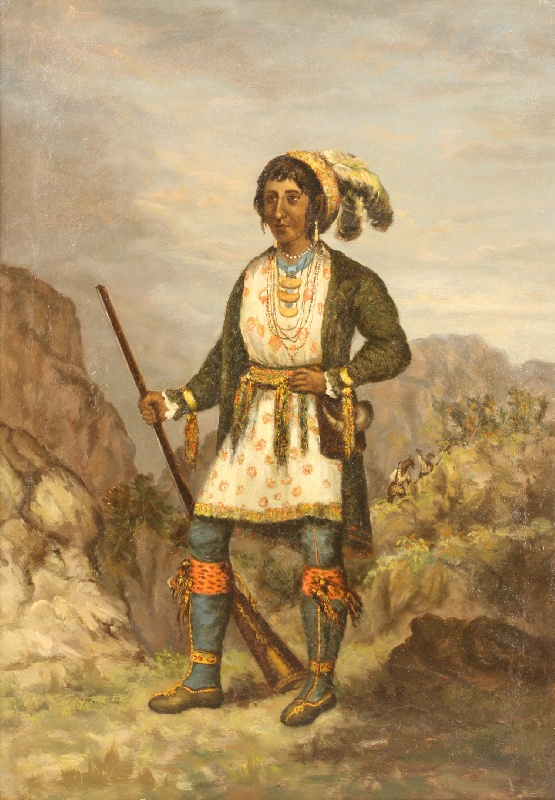 Portrait of Seminole leader Osceola, 19th century