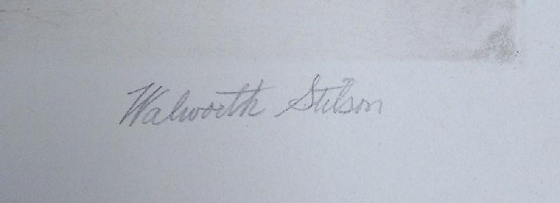 Walworth Stilson Bridgeport, Connecticut etching (lot#252)