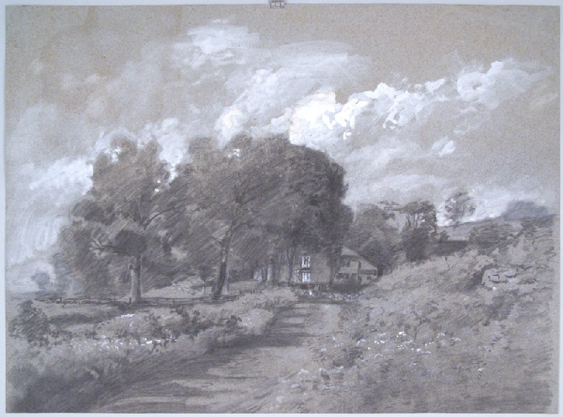 Walworth Stilson landscape of the Mallet House, New Milford, CT (lot#245)