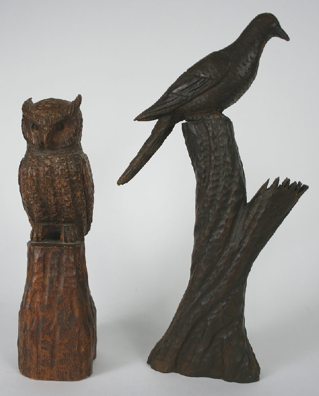 Clarence Stringfield carvings (Tennessee 1903 -1976)