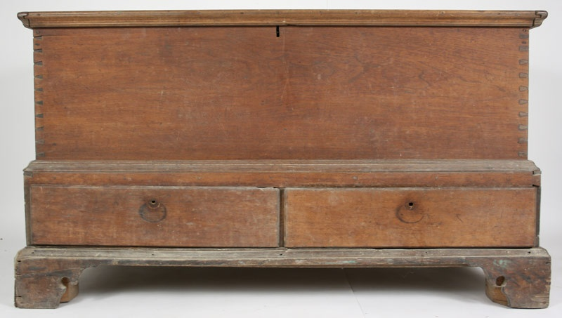 Wythe Co. Virginia early dower chest