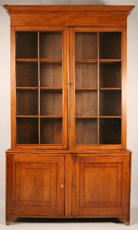 Southern cherry bookcase, prob. Alabama or Georgia