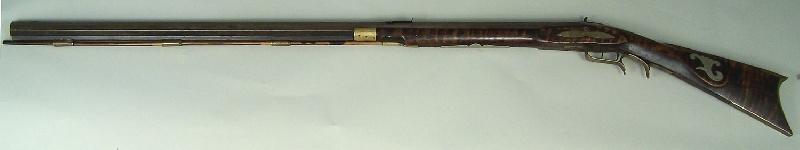 Southern long rifle, marked E D Benson (lot#1)