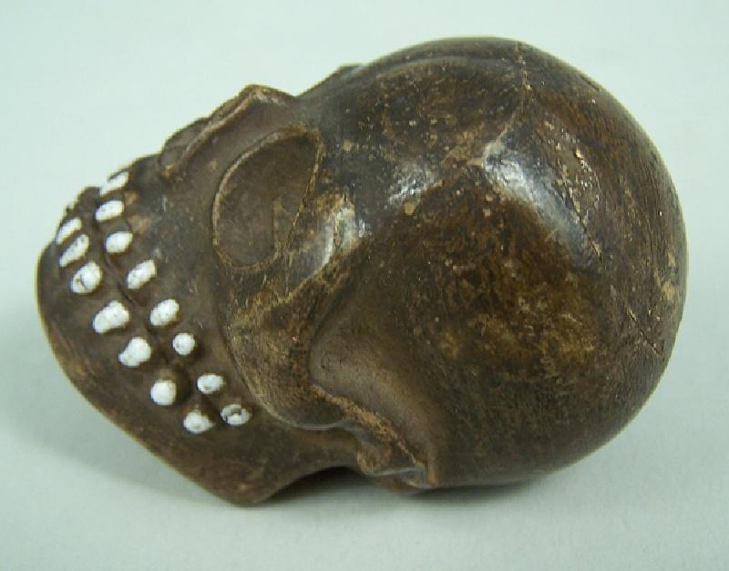 Early carnival cane skull