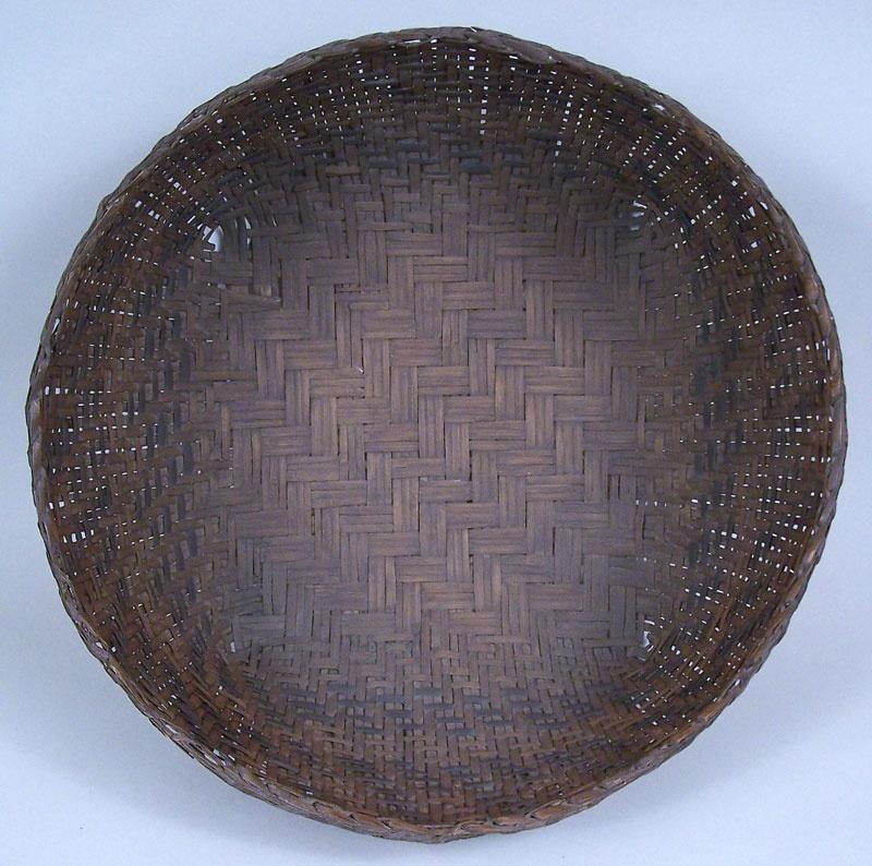 North Carolina large Cherokee river cane basket, 19th century (lot#50)