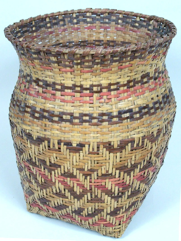 North Carolina Cherokee river cane basket (lot#53)