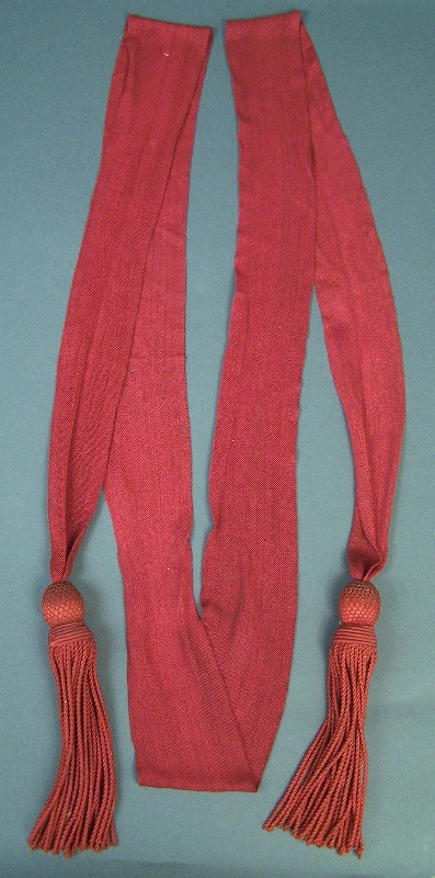 Important and rare Confederate Civil War Sash