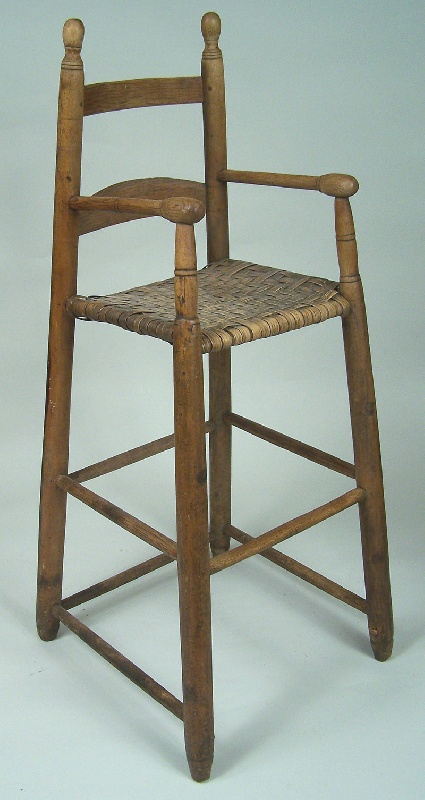 Greene County, Tennessee high chair (lot#128)