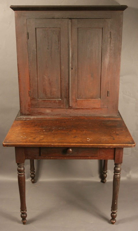 Middle Tennessee postmaster's desk, original surface